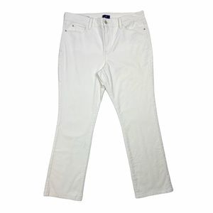 NYDJ Corduroy Straight Leg Pants Size 16P